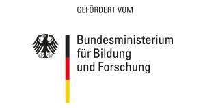 Logo des Bundesministerium für Bildung und Forschung (gefördert vom)