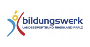 Logo des Bildungswerks des Landessportbundes Rheinland-Pfalz